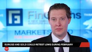 GOLD - USD - EUR/USD и золото