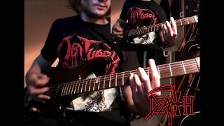 Death - Secret Face (Lead and Rhythm Guitar Cover)