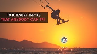 10 Kiteboarding Tricks That Anybody Can Try (Tricktip with Alby Rondina)