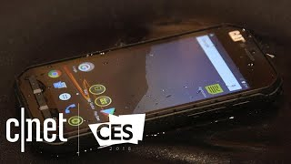 The Cat S41 phone can power other devices