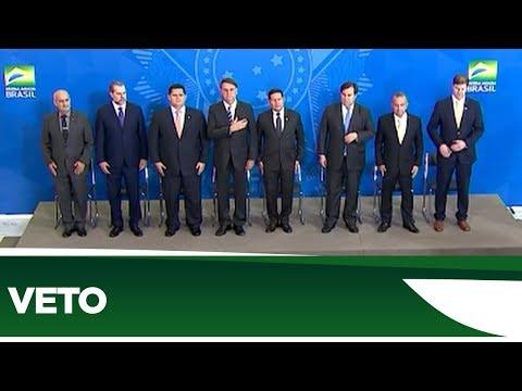Maia e Alcolumbre anunciam acordo para derrubar veto de Bolsonaro - 11/02/20