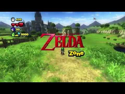 Sonic Lost World - Wii U - The Legend of Zelda Zone
