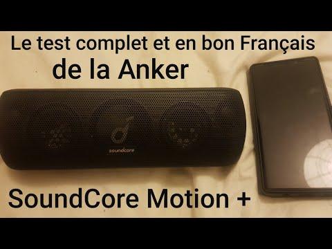 Test Français de la Anker SoundCore Motion +: La REINE des enceintes pas chères. 😍😍😍