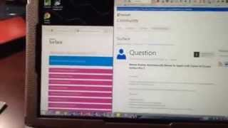 Surface pro 3 pointer issue