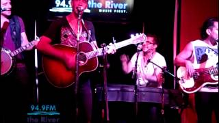 American Authors - Trouble  (acoustic KRVB radio)