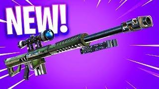 The New Sniper in Fortnite..