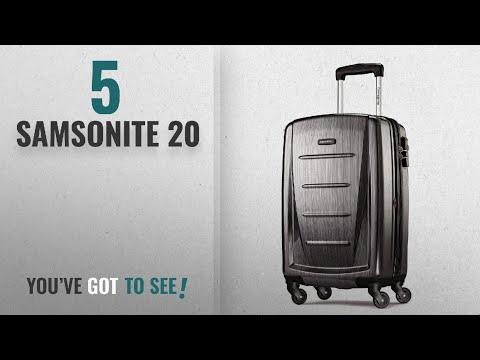 "Top 10 Samsonite 20 [2018]: Samsonite Winfield 2 Hardside 20"" Luggage, Charcoal"