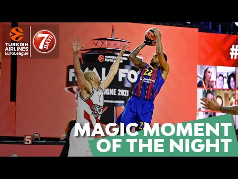 7DAYS Magic Moment of the Night: Cory Higgins, FC Barcelona