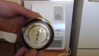 TEST-Funktionsprüfung  AKO Bad-Schnellheizer H 260/4 Heizlüfter,Fan heater
