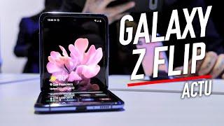 On a essayé le Samsung Galaxy Z Flip !