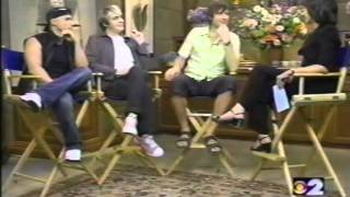 Duran Duran Interview and performing Lava Lamp, Girls On Film - CBS Early Show  2000