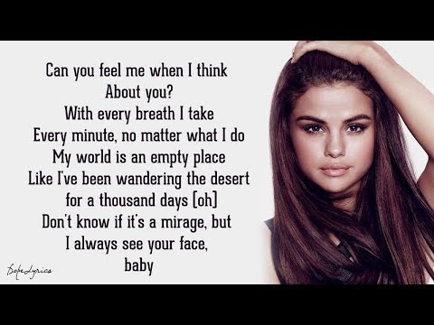 Selena Gomez & The Scene - A Year Without Rain (Lyrics) 🎵
