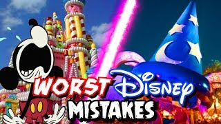 Top 8 Worst Disney Mistakes We're Happy to Forget
