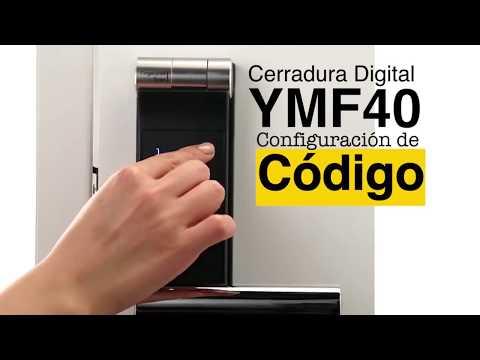 Cerradura Digital YMF40: Configuración Código