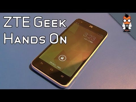 ZTE Geek Hands On - 5