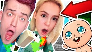 OUR VERY OWN *MINECRAFT* BABY?!