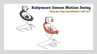Babymoov Swoon Motion Swing -  Installation & Test