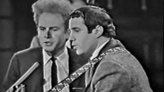 Simon & Garfunkel - Sounds Of Silence (Live Canadian TV, 1966)