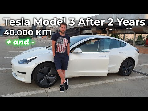 Tesla Model 3 Review After 2 Years and 40.000 km