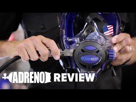 Ocean Reef Integrated Dive Mask Review