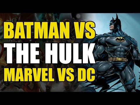 Batman Fights The Hulk (Marvel/DC Crossover #2)