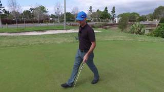 Quick Tip of the Day - FOCUS ON PUTTING POINTS ON SLOPING GREENS with Grant Williams