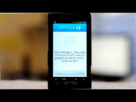 Text By Voice For Android Reads Incoming SMS Messages Aloud, Sends Them Using Your Voice