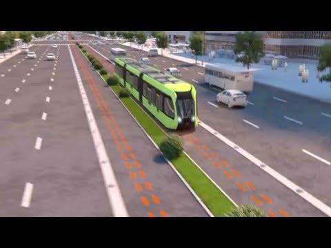 Oto pociąg, który porusza się po w pełni wirtualnym torze