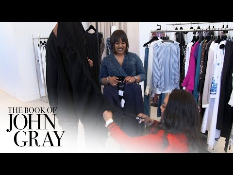 Aventer Enlists a Stylist Who Lost Her Legs to Style Her for an Event | Book of John Gray | OWN