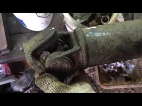 Замена крестовины кардана KIA Sorento