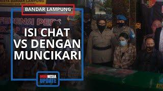 Polisi Ungkap Isi Chat Artis VS dengan Muncikari, Sebut Artis VS Menawarkan Diri
