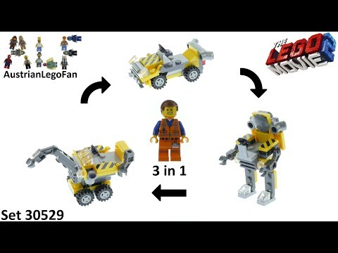 Vidéo LEGO The LEGO Movie 30529 : Mini Master-Building Emmet (Polybag)