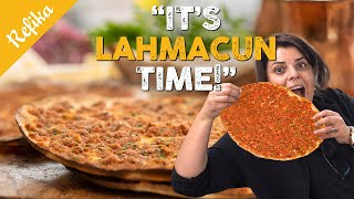 YOU LOVE PIZZA? Then You MUST Try This Crusty and Juicy Lahmacun Recipe + Easy BONUS Way w/ Lavash
