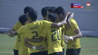 Piala AFF B22 2019: Malaysia lwn Myanmar   1-0   Astro Arena