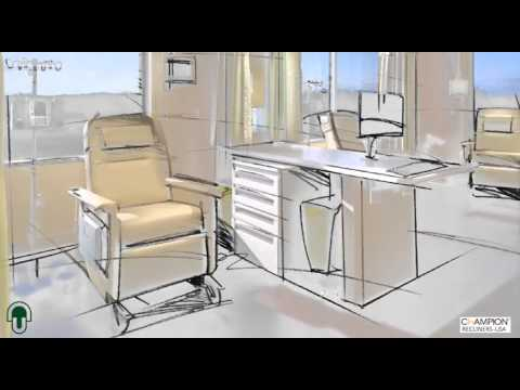 Concord Medical Recliner