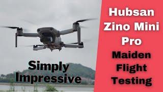 Hubsan Zino Mini Pro 249g 4K Camera Aerial Filming Drone Flight Testing