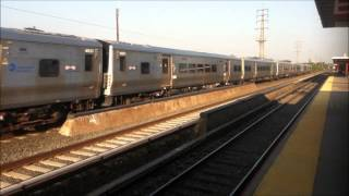 preview picture of video 'LIRR Rush Hour Action at Rosedale'