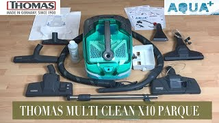 THOMAS AQUA+ MULTI CLEAN X10 PARQUET