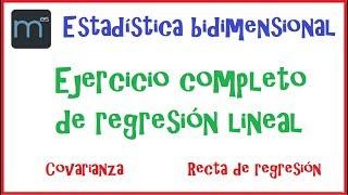 Problema de regresión lineal