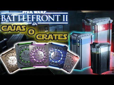 CAJAS O CRATES INICIALES EDICIÓN DELUXE + BUGS 🎁| Star Wars Battlefront II UNBOCSIN [PlayStation 4]