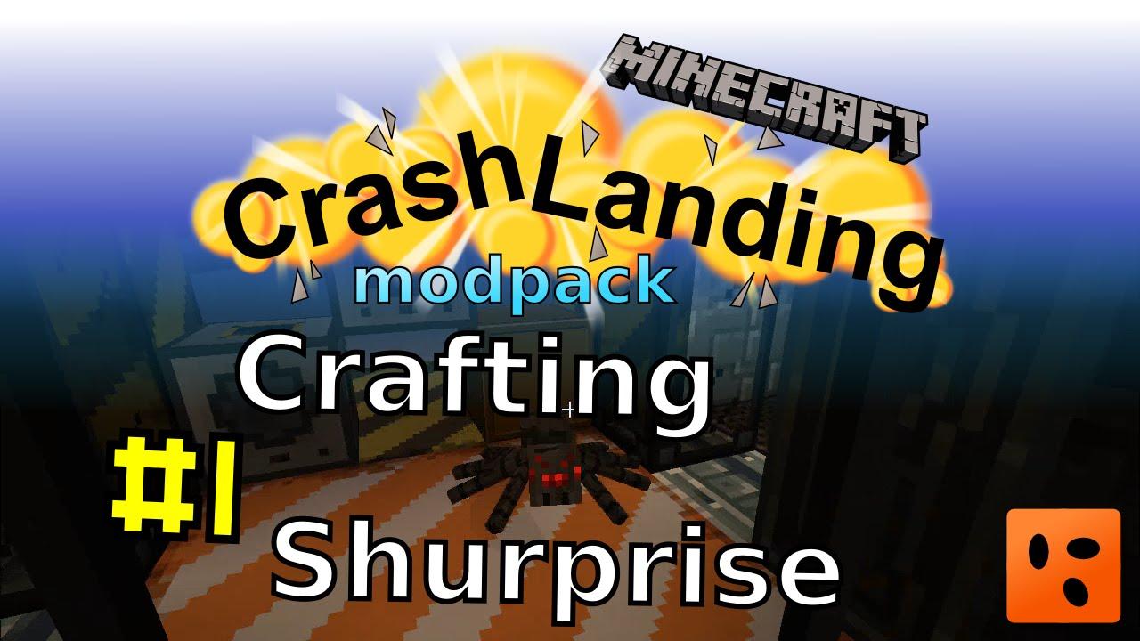 Crash Landing #1 | Crafting Shurprise