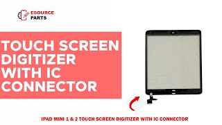 iPad Mini 1 & 2 Touch Screen Digitizer With IC Connector