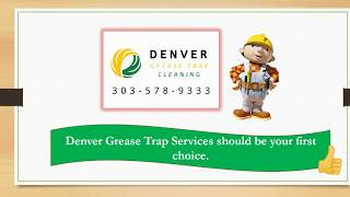 Denver Grease Trap Cleaning | 303-578-9333