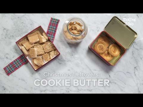 Turn Any And All Leftover Christmas Cookies Into Cookie Butter
