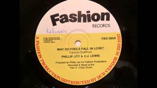 Phillip Leo & CJ Lewis - Why Do Fools Fall In Love  [ HIGH QUALITY SOUND - HD 1080p ]