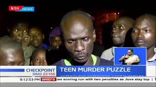TEEN MURDER: Huruma boy killed by unknown people, he was last seen at Huruma School Compound