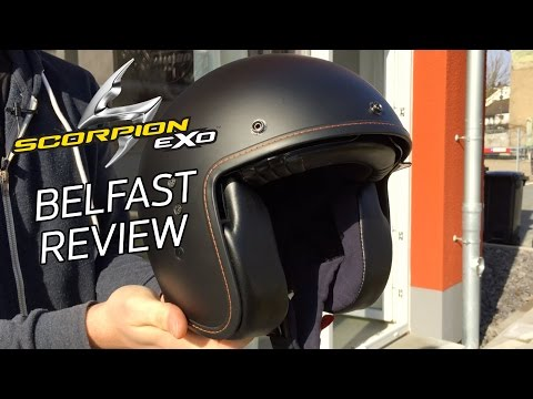 Scorpion EXO Belfast Motorrad Jethelm Helm Vorstellung