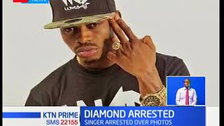 East African singing sensation bongo artist Diamond Platinumz arrested