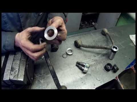 ремонт рычагов SsangYong Rexton на токарном станке
