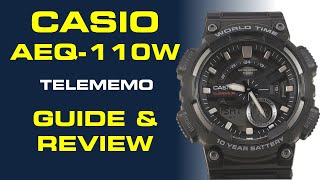 Casio AEQ-110W Guide and Review